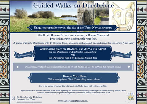 Guided Walks on Durobrivae