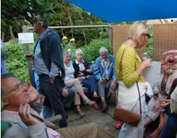 June 2014: Garden Safari - A hundred or so expeditionists enjoyed one of three separate routes visiting a total of nine different gardens finishing up at Steve and Val Grys's house.