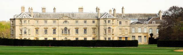Milton Hall, Peterborough, former home of the Earls Fitzwilliam