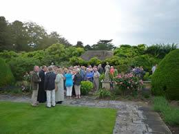 Open gardens volunteers at Milton Hall